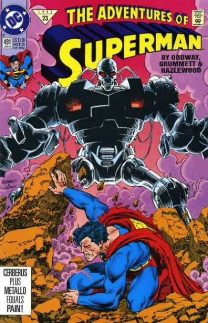 Superman 491 - Robot - Monster - Metal - Pain - On The Ground