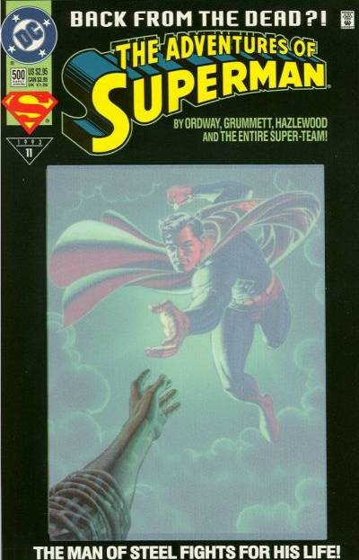Superman 500 - By Ordway - Grummett - Hazlewood - The Entire Super-team - Stars