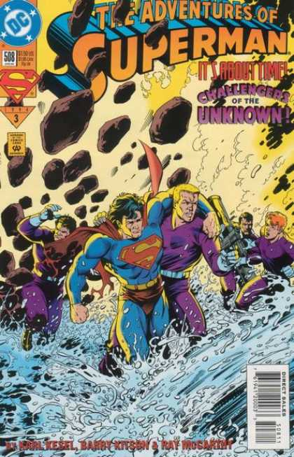 Superman 508 - Dc - 508 - The Adventures Of Superman - Its About Time - Challengers Of The Unknown
