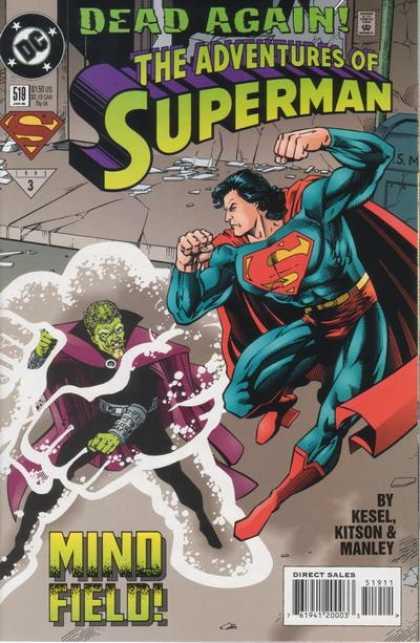 La muerte de Clark Kent 519-1