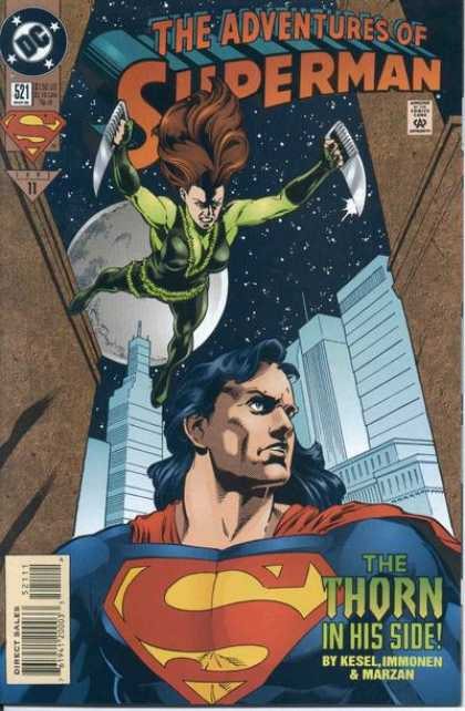 Superman 521 - Dc - Brunette - Weapons - Woman - Full Moon