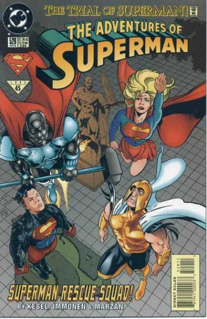 Superman 529 - Supergirl - Adventures - Rescues - Justice - Superboy