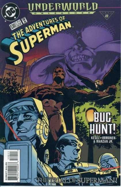 Superman 530 - Trial - Bug - Hunt - Kesel - Marzan Jr