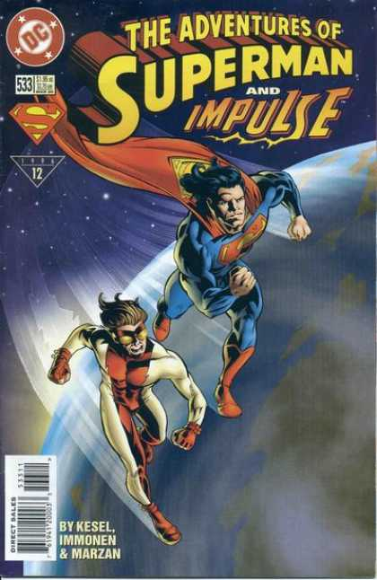Superman 533 - Impulse - Earth - Kesel - Immonen - Marzan