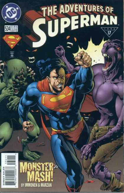 Superman 534 - Dc - Dc Comics - Superman Adventures - Monster - Sueprman Hits