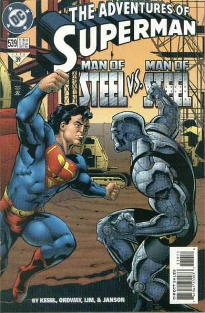 Superman 539 - Dc Comics - Man Of Steeal - Janson - Bulldozer - Kesel