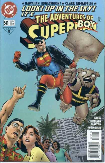 Superman 541 - Man Of Steel - Battle - Fighting - Villian - Hammer