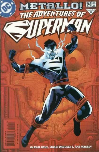 Superman 546 - Dc - Approved By The Comics Code Authority - Metallo - Adveture - Karl Kesel
