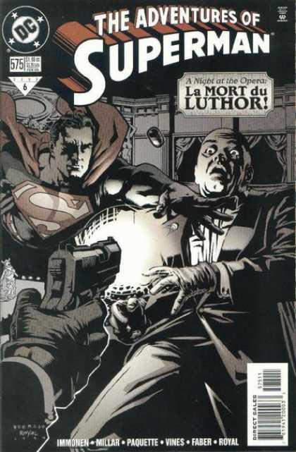 Superman 575 - Adventures - La Mort Du Luthor - Gun - Man - Millar