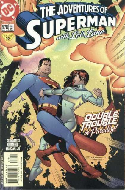 Superman 578 - Lois Lane - Dc - Adventures - Double Trouble - Paradise