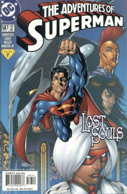 Superman 587 - Dc - Miller - Casey - Fist - Superhero
