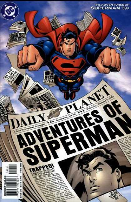 Superman 599 - Dc - Superman - The Adventures Of Superman - 599 - Daily Planet