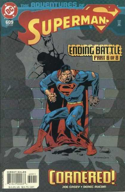 Superman 609 - Defeated - Cornered - Weak - Ending Battle - Dc