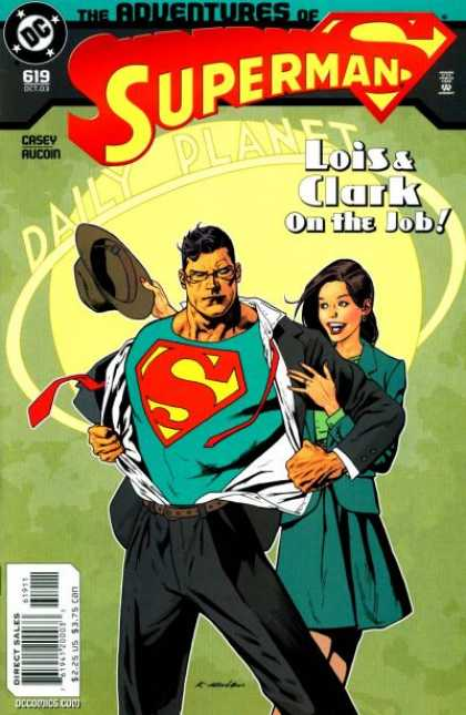 Superman 619 - Daily Planet - Lois - Clark - Casey - Aucoin