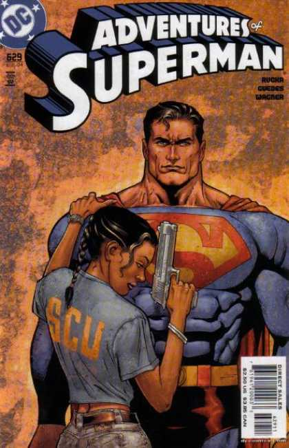 Superman 629 - Dc - Gun - Rucka Guedes Wagner - Woman - Direct Sales