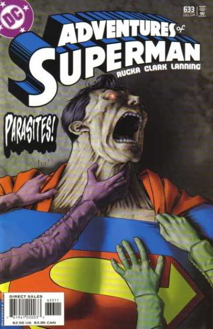 Superman 633 - Parasites - Rucka - Clark - Lanning - Diamond Comics