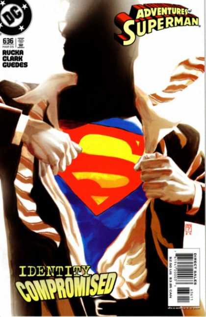 Superman 636 - Rucka - Clark - Guedes - Identity Compromised - Superman