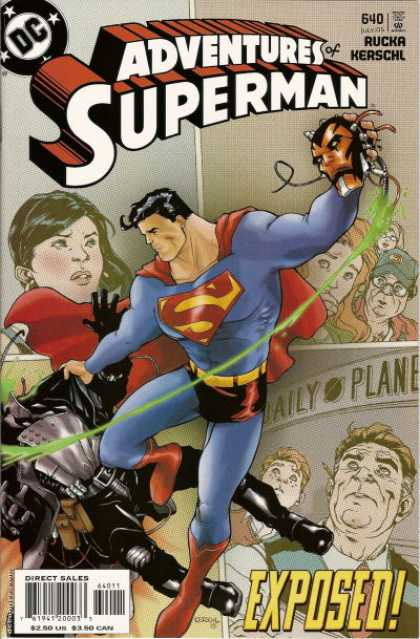 Superman 640 - Dc Comics - Superhero - Daily Planet - Woman - People