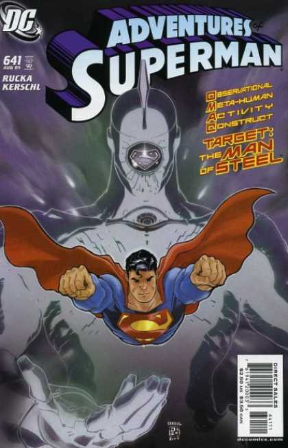 Superman 641 - Dc - 641 - Rucka Kerschl - Target - The Man Of Steel
