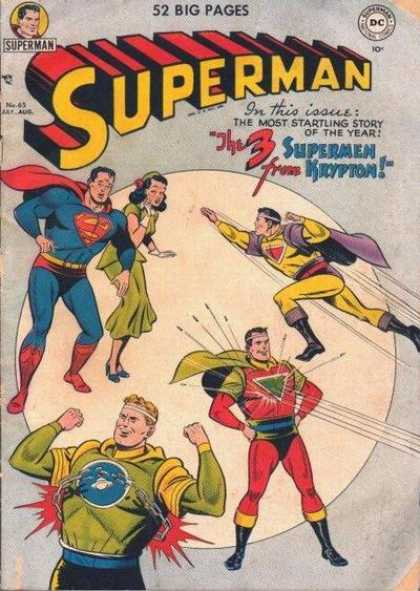 Superman 65 - Krypton - Story - Issue - Flying - Stopping Bullets