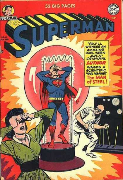 Superman 68 - 52 Big Pages - Duel - Luthor - Scientic War - Man Of Steel