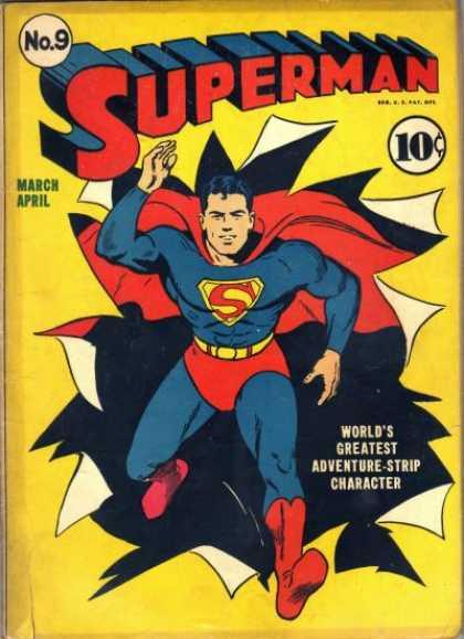 Superman Comic Book White Cover : Superman covers