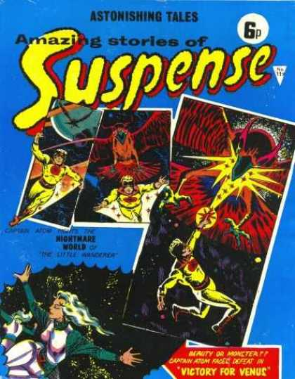 Suspense 119 - Astonishing Tales - Number 11 - Nightmare World - Victory For Venus - Captain Atom