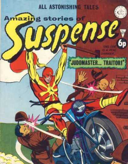 Suspense 127 - All Astonishing Tales - Amazing Stories - Motorbike - 6p - Judomaster