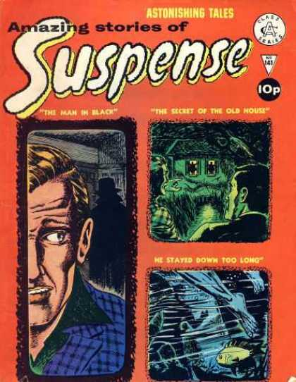 Suspense 141 - Amazing Stories - Astonishing Tales - Horror - Thrillers - House Of Horror