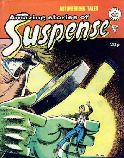 Suspense 178 - Magnifying Glass - Astonishing Tales - 178 - Green Hands - Class A Series