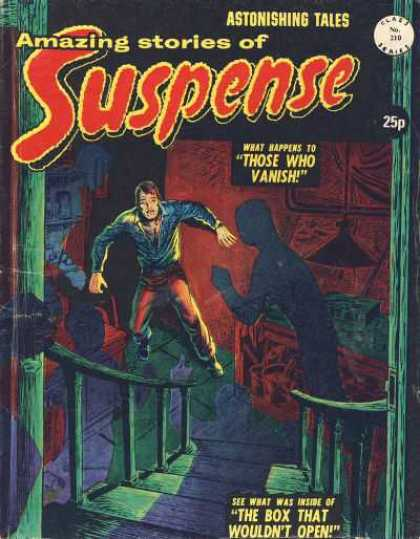 Suspense 210 - Suspense - Action - Thriller - Tales - Man
