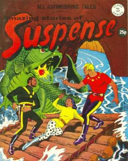 Suspense 221 - Suspense - Tales - Log Raft - Water - Fish