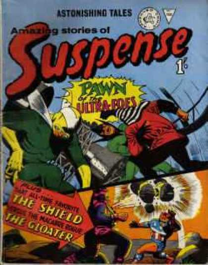 Suspense 56 - Tales - Pawn - Ultra-foes - Explosion - Shield
