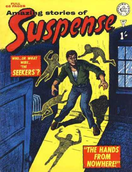 Suspense 83 - Seekers - The Hands From No Where - Whoor What - Amazing Stories - Ghost