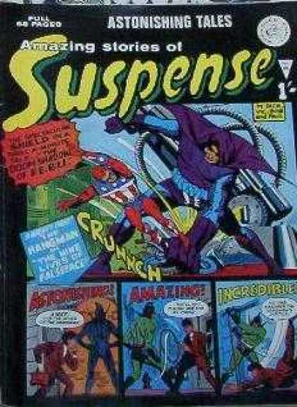 Suspense 92 - Onomatopoeia - Amazing - Astonishing - Incredible - Speech Bubble