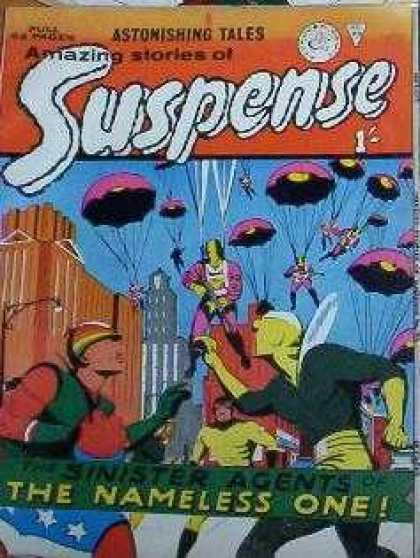 Suspense 94 - Parachutes - Astonishing Tales - Buildings - Sinister Agents - The Nameless One