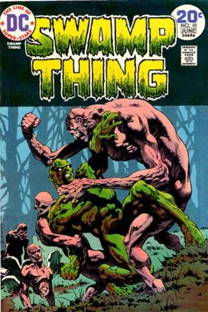 Swamp Thing 10 - Bernie Wrightson