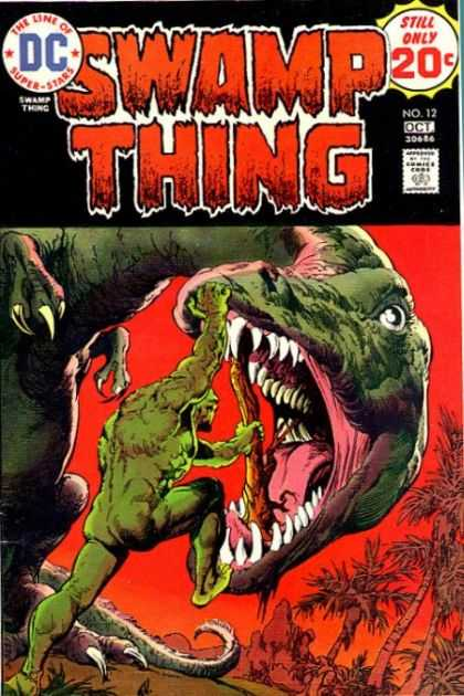 Swamp Thing 12 - End Of Red Planet - Green Giant - Last Dinasour - Green Warrior - Mr Victory - Nestor Redondo