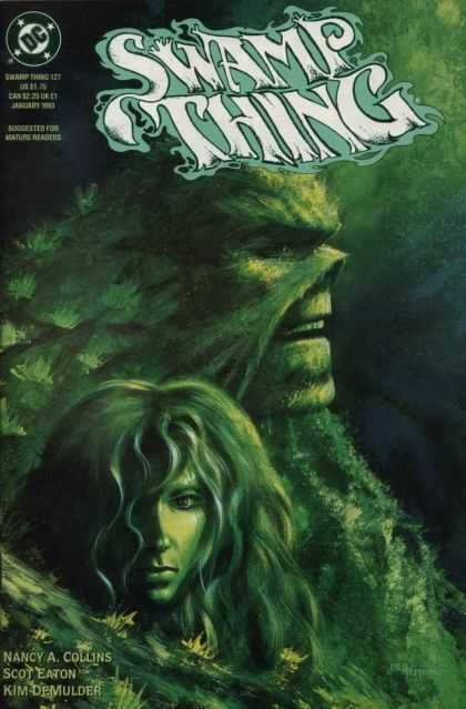Swamp Thing 127 - Dc - Nancy A Collins - Scot Eaton - Kim Demulder - Moss