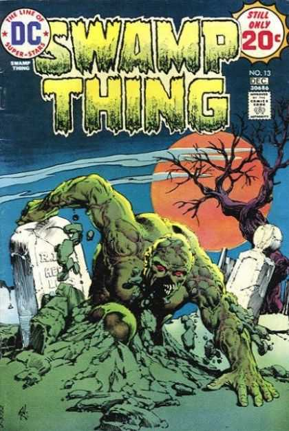 Swamp Thing 13 - Dc - Swamp Thing - December - No 13 - 20 Cents - David Mack, Nestor Redondo