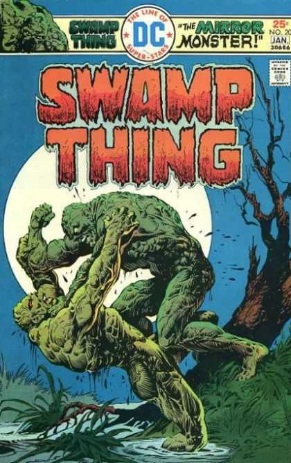Swamp Thing 20 - Swamp Life Revenge - Swamp Shadow Hollow - Twin Ivy - Mirror Image Death - Back Thrasher - Ernie Chan, Richard Corben