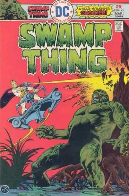 Swamp Thing 21 - Dc - Dc Comics - Swamp - Creature - Shocker - Eric Powell, Nestor Redondo