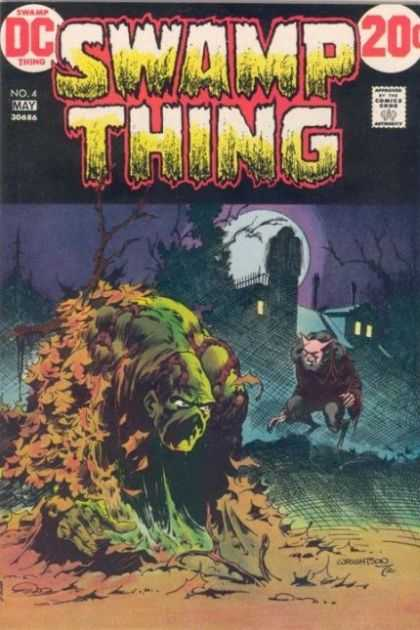 Swamp Thing 4 - Bernie Wrightson
