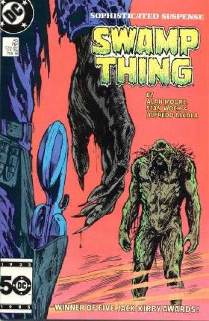 Swamp Thing 45 - Dc - Sophisticated Suspense - Alan Moore - Stan Woch - Alfredo Accala