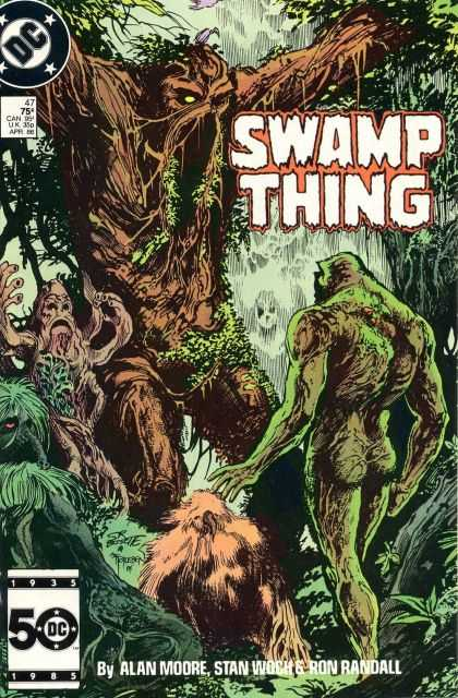 Swamp Thing #47 via | buy on eBay