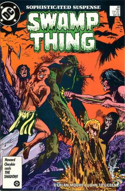 Swamp Thing 48 - John Totleben