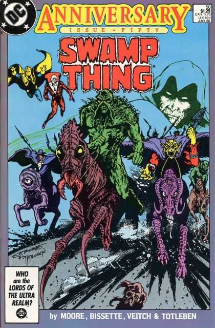 Swamp Thing 50 - John Totleben