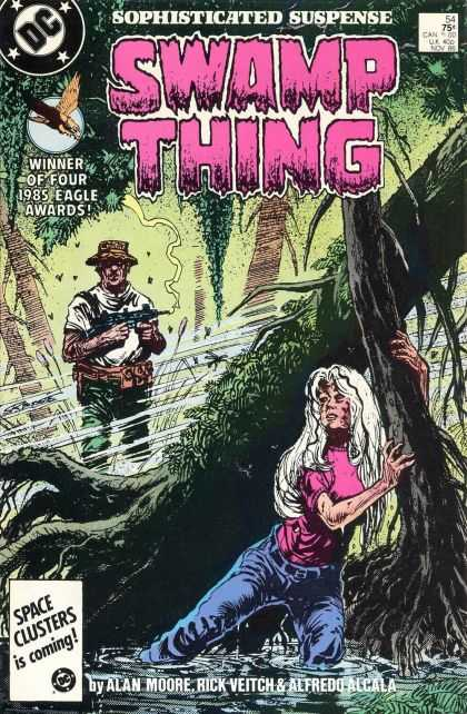 Swamp Thing 54 - Swamp Thing - Dc - Alan Moore - Rick Veitch - Alfredo Alcala