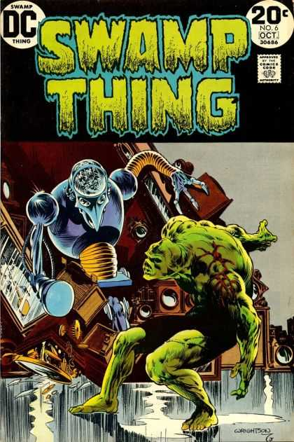 Swamp Thing 6 - Bernie Wrightson