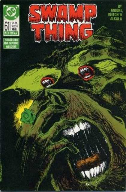 Swamp Thing 61 - Dc Comics - Moore - Veitch - Alcala - Mature Readers